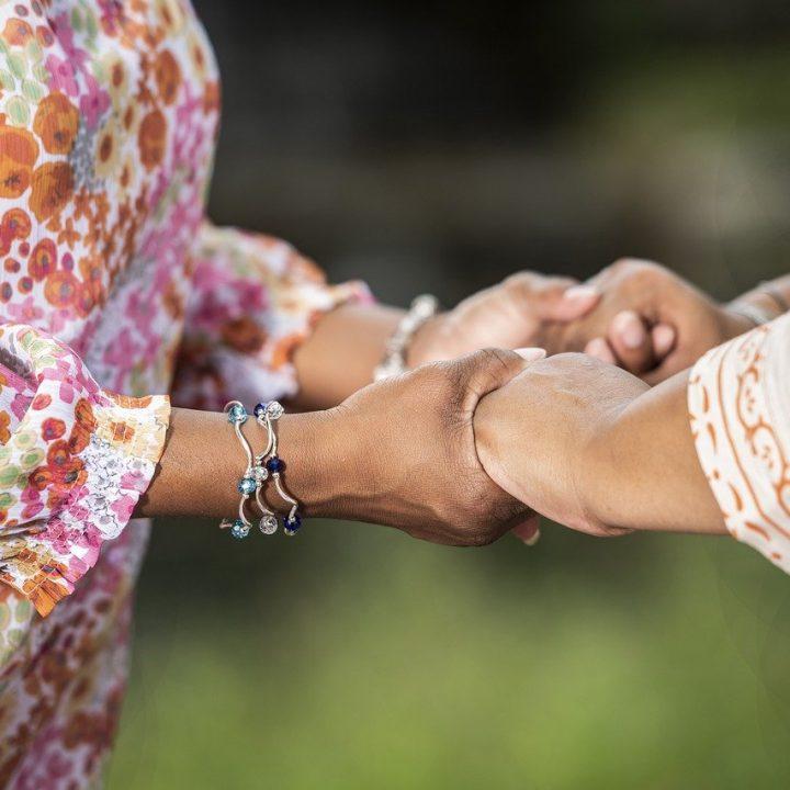 together, hands, prayer